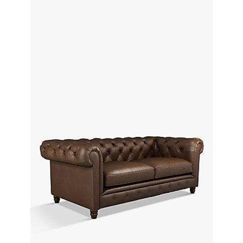 Halo Earle Chesterfield Medium 2 Seater Leather Sofa