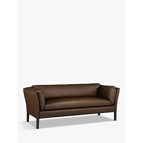 Halo Groucho Large 3 Seater Leather Sofa
