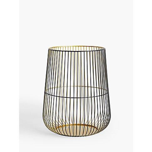 John Lewis & Partners Cage Lantern Candle Holder, Large