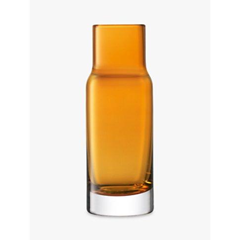 LSA International Utility Vase, Amber, H19cm