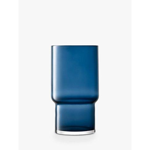 Lsa International Utility Vase, Sapphire, H30cm
