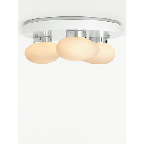 John Lewis & Partners Aerglo LED Semi Flush Smart Ce...