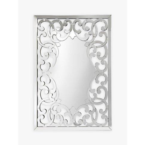 Libra Venezia Rectangular Mirror, Metallic, H140 X W100cm