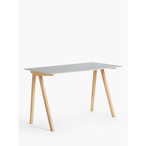 HAY CPH 90 Office Desk, Grey/Oak