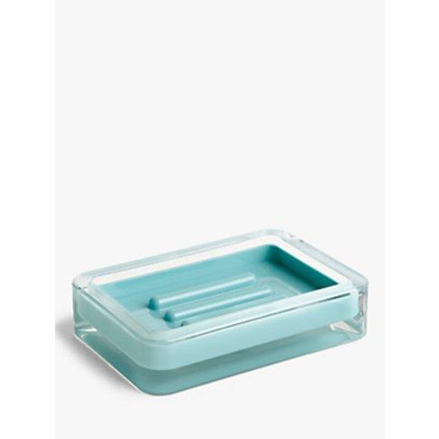 John Lewis & Partners Block Stripe Soap Dish