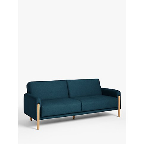 House by John Lewis Show Wood Sofa Bed, Light Leg