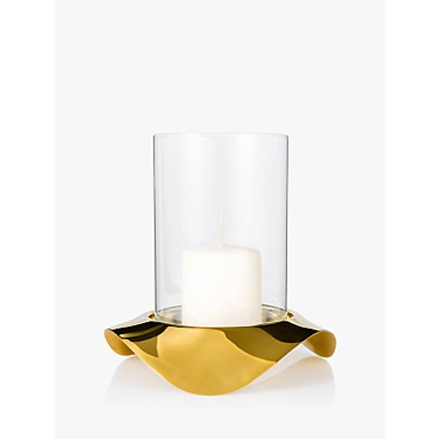 Robert Welch Drift Tealight Holder, Gold