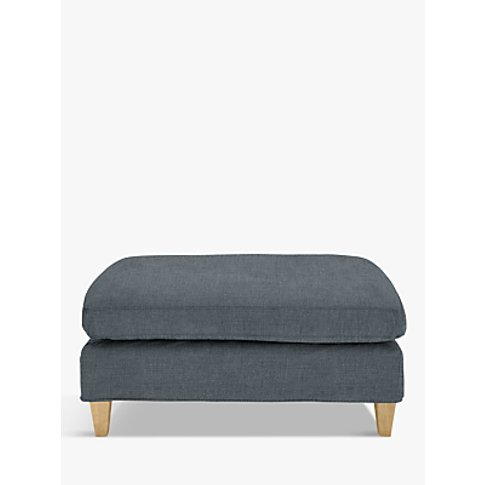 John Lewis & Partners Bailey Footstool, Light Leg, H...