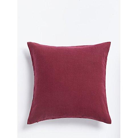 John Lewis & Partners Linen Cushion
