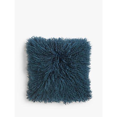John Lewis & Partners Mongolian Sheepskin Cushion