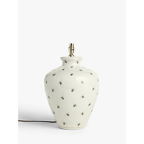 India Jane Extra Large Bee Canister Jar Ceramic Lamp...