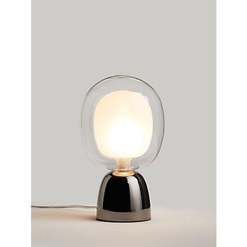 John Lewis & Partners Martian Touch Table Lamp, Smoke