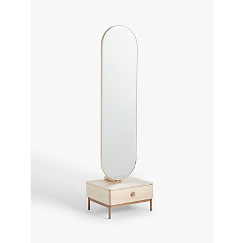 Design Project By John Lewis No.185 Mirror, Natural/Oak