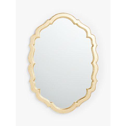 John Lewis & Partners Scallop Edge Wall Mirror, 101 ...
