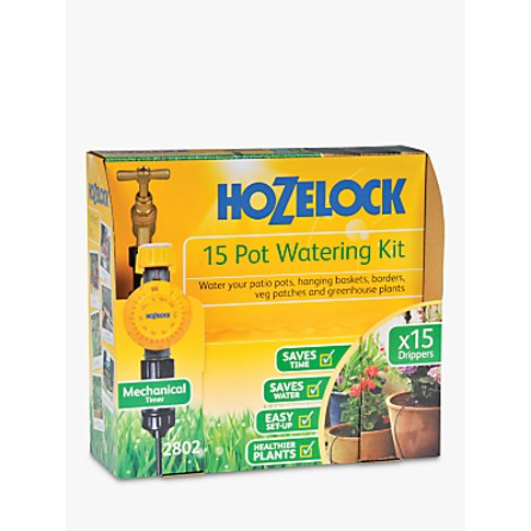 Hozelock Automatic 15 Garden Plant Pot Watering Kit