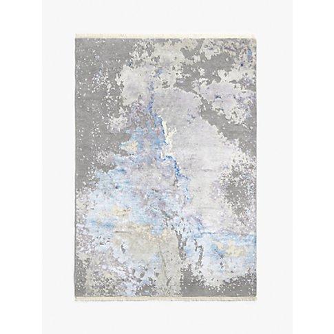 John Lewis & Partners Hand Knotted Nebula Rug, Blue