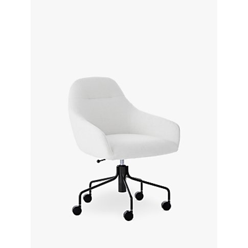 West Elm Valentina Office Chair, White