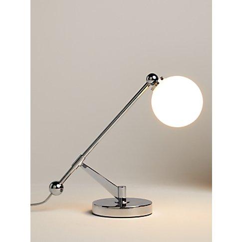 John Lewis & Partners Balance Table Lamp, Chrome