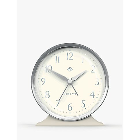 Newgate Clocks Hotel Mantel Clock, Linen Grey