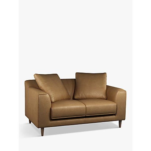 John Lewis & Partners Billow Small 2 Seater Leather ...