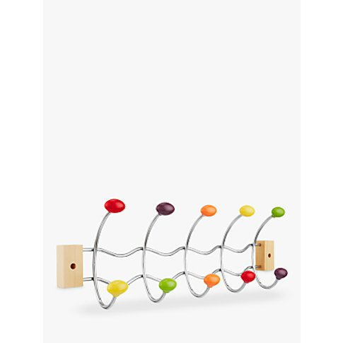 John Lewis & Partners Multicoloured Ball Coat Hooks