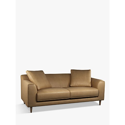 John Lewis & Partners Billow Grand 4 Seater Leather ...