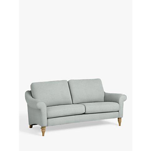 John Lewis & Partners Camber Large 3 Seater Sofa, Light Leg, Aquaclean Matilda Duck Egg