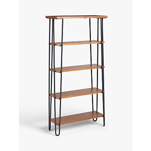 John Lewis & Partners Hairpin Tall Bookcase