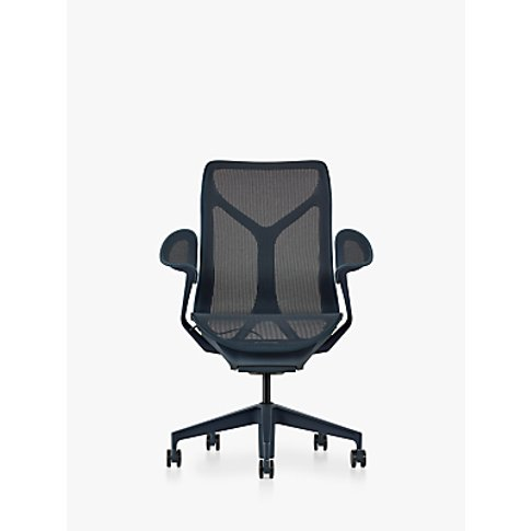 Herman Miller Cosm Mid Back Office Chair, Nightfall