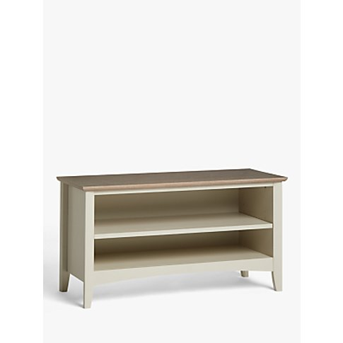 John Lewis & Partners Alba Shoe Storage Bench, Washe...