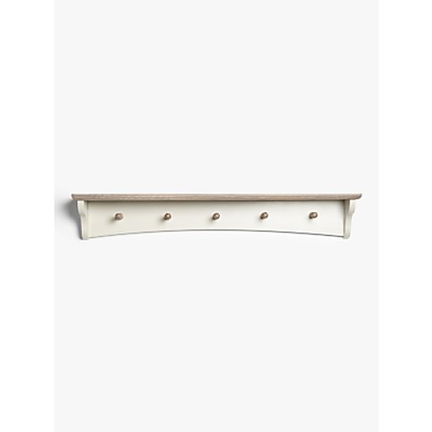 John Lewis & Partners Alba Coat Hooks, Washed Grey