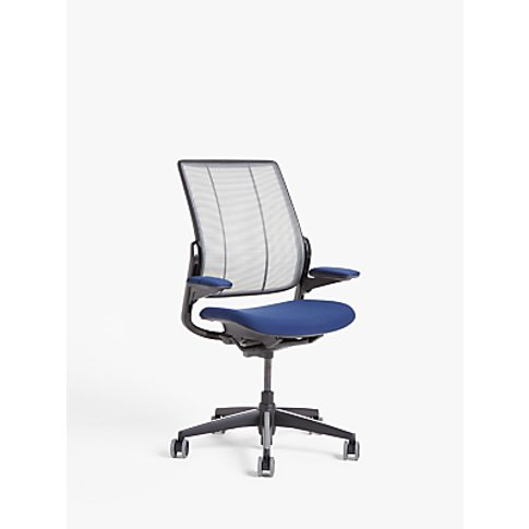 Humanscale Smart Ocean Office Chair, Navy/Black