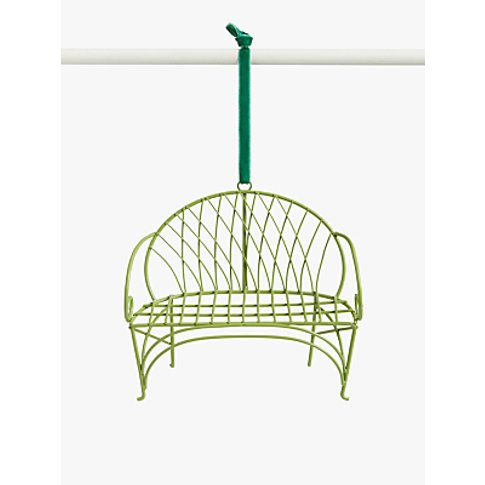 John Lewis & Partners Garden Retreat Wire Bench Tree...