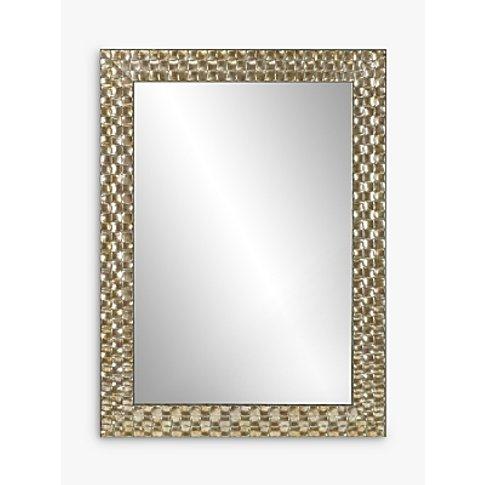 John Lewis & Partners Mosaic Wall Mirror, 106 X 75cm...