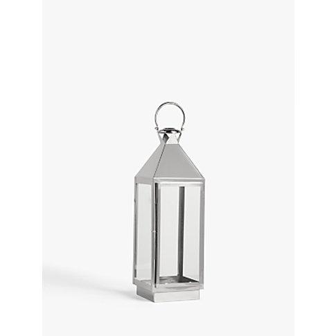 John Lewis & Partners Square Lantern Candle Holder, ...