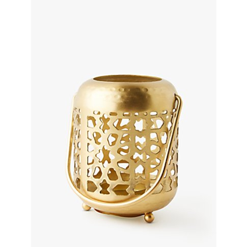 Anthropologie Devika Lantern Candle Holder, H10.16 cm