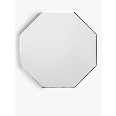 John Lewis & Partners Scandi Metal Hexagonal Mirror,...