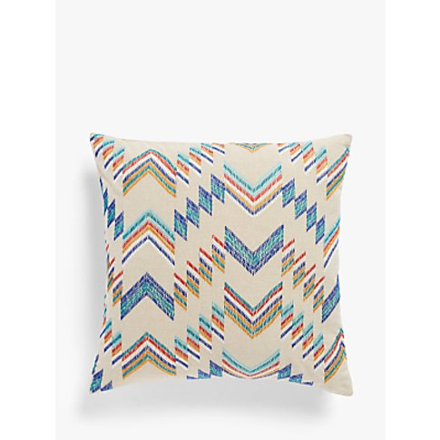 John Lewis & Partners Cau Cushion, Multi