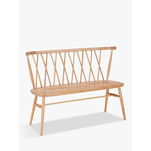 Ercol For John Lewis Shalstone 2 Seater Dining Bench...