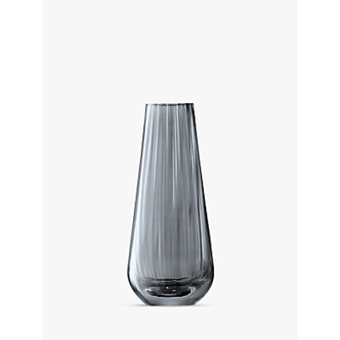 Lsa International Lantern Vase, Zinc Lustre, H18cm