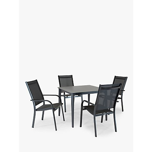 Kettler Surf 4 Seat Garden Dining Table And Stacking...