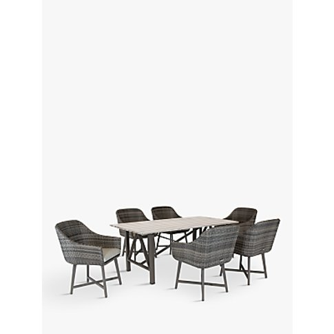 Kettler Lamode 6 Seat Garden Dining Table And Chairs...