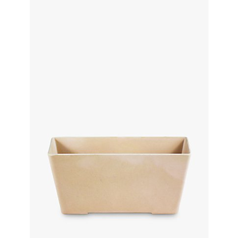 Husk Recyclable Herb Window Box Planter, Blush