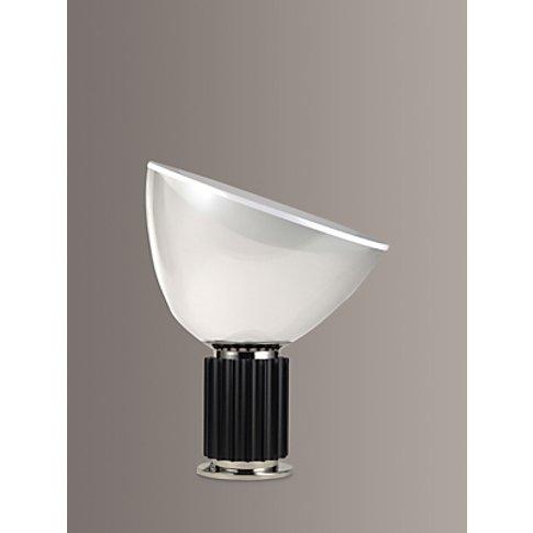 Flos Taccia Led Small Table Lamp, Black