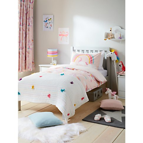little home at John Lewis Magical Unicorn Reversible...