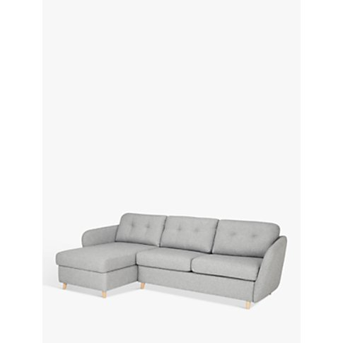 House by John Lewis Arlo LHF Chaise with Storage Sof...