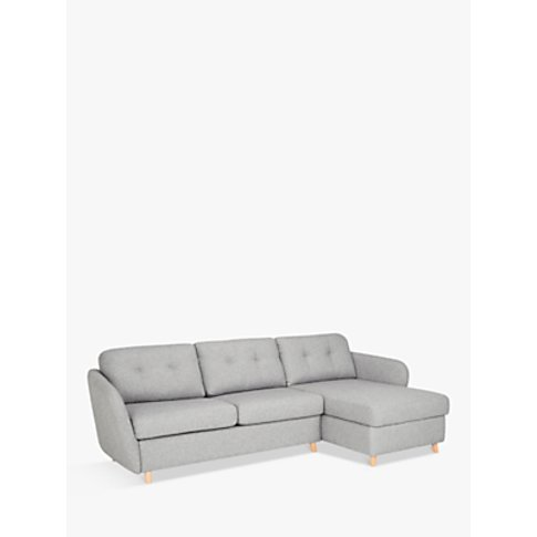 House by John Lewis Arlo RHF Chaise with Storage Sof...