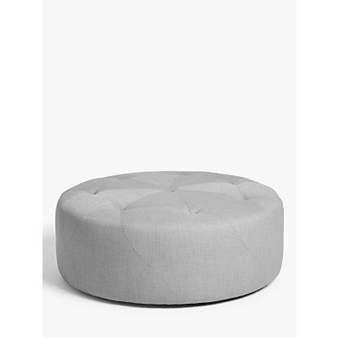 John Lewis & Partners Button Footstool, Large