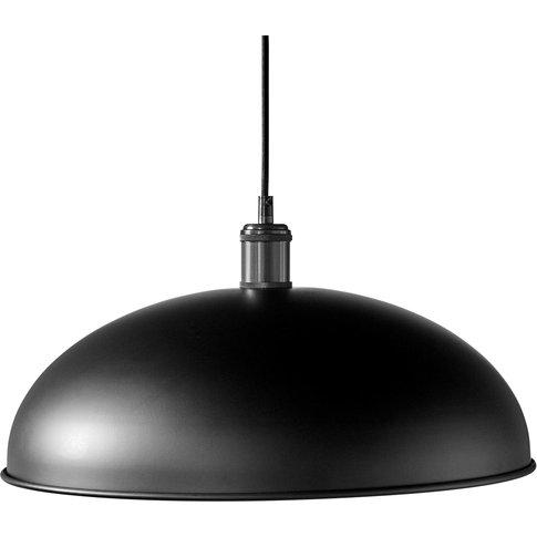 Menu Hubert Pendant Light, 1-Bulb Ø 45 Cm, Black