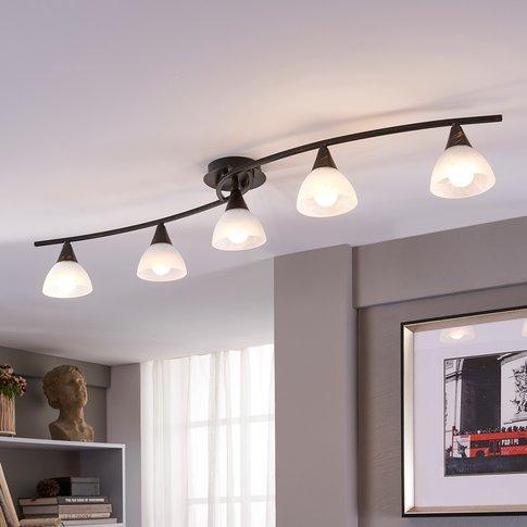 5-Bulb Led Ceiling Light Della, Elongated